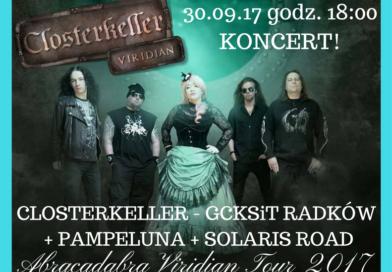 Koncert Closterkeller, Pampeluna, Solaris Road
