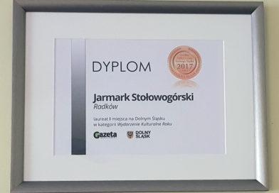 Jarmark Stołowogórski nagrodzony