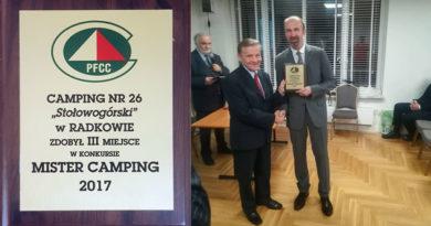 Camping Stołowogórski nagrodzony