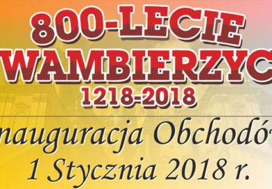 Inauguracja obchodów 800-lecia Wambierzyc