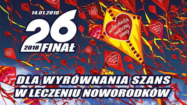 26. Finał WOŚP – niedziela, 15:00 – Rynek w Radkowie