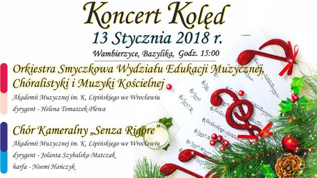 Koncert kolęd w Wambierzycach