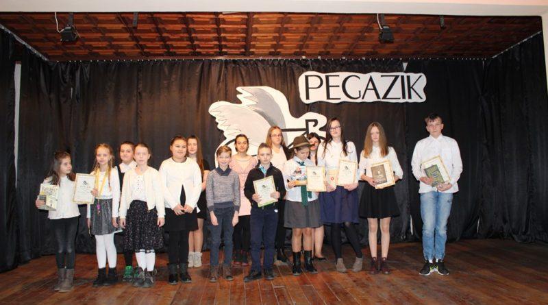 """Konkurs recytatorski """"Pegazik"""" – etap gminny – rozstrzygnięty"""