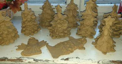 Zajęcia sekcji ceramicznej